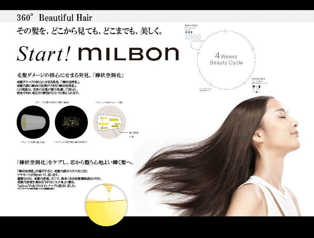 start milbon